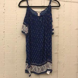 Forever 21 Blue patterned dress